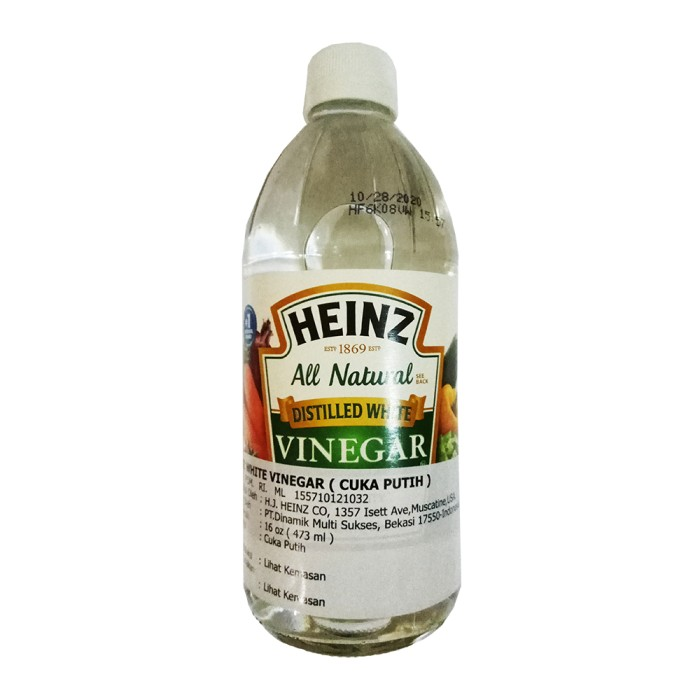 harga Heinz distilled white vinegar 473 ml (16 oz) Tokopedia.com