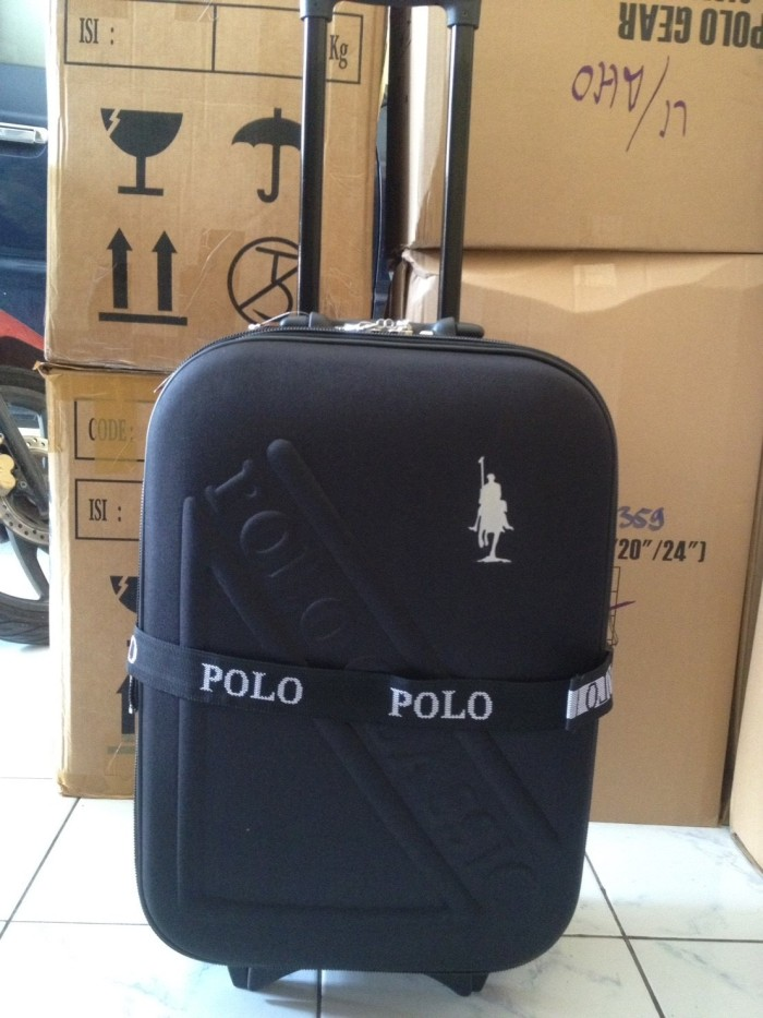KOPER POLO CLASSIC EMBOS 20 INCH BLACK