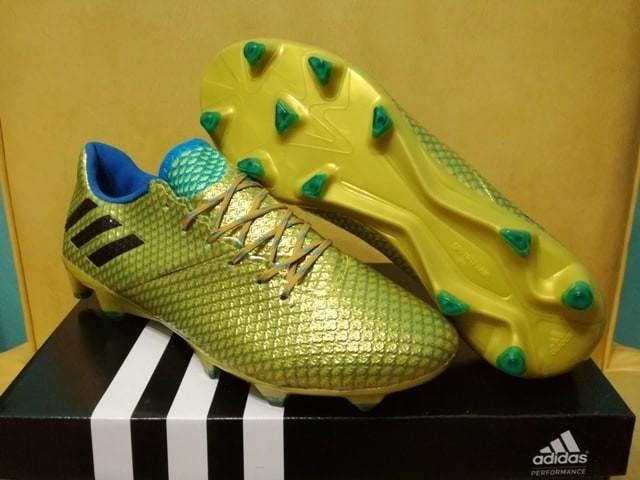 Jual Sepatu Bola Adidas Messi 16 1 Gold Made In Indonesia Kota