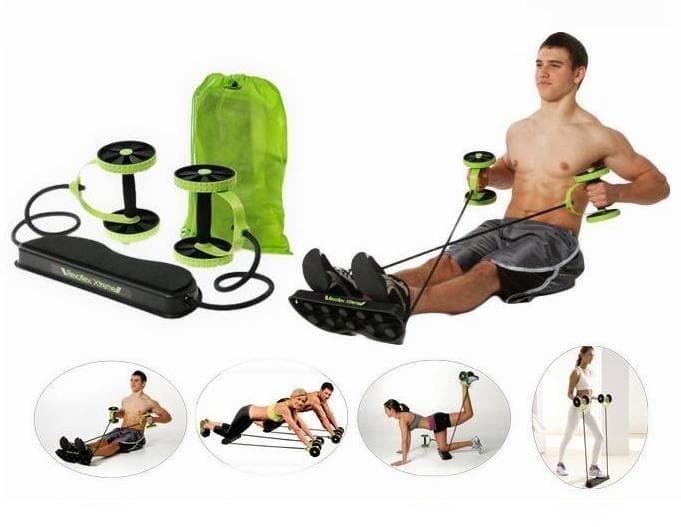 Alat Fitness murah Portable Revoflex Extreme push up & sit up perut