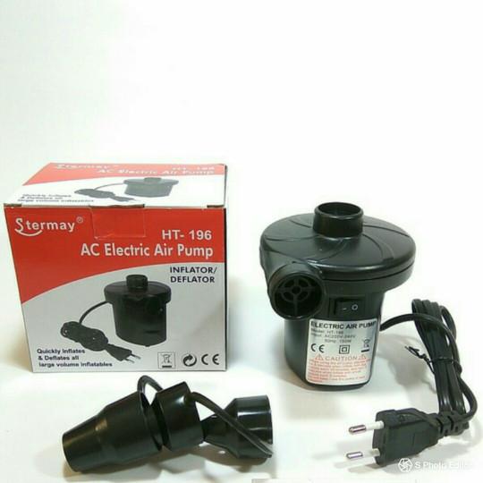 Foto Produk pompa kasur sofa angin , kolam spa , listrik elektrik AC , vacum blow dari toko distributor hoki