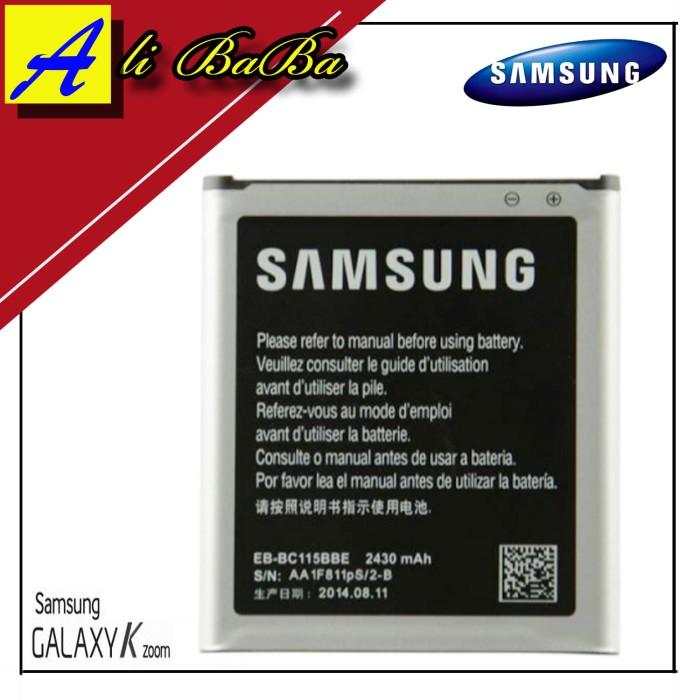 harga Baterai handphone samsung galaxy k zoom c111 c115 s5 zoom batre hp Tokopedia.com