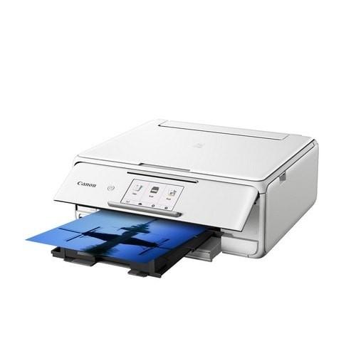 canon pixma multifunction inkjet printer ts8170 white