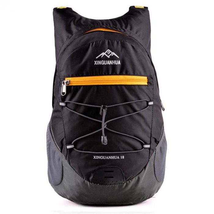 Tas Mini Lipat Dompet Backpack Ransel Sepeda Gunung Outdoor Jalan 18L c5dd25c099