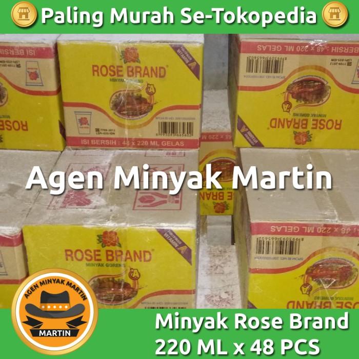 harga Minyak goreng rose brand cup 220 ml x 48 Tokopedia.com