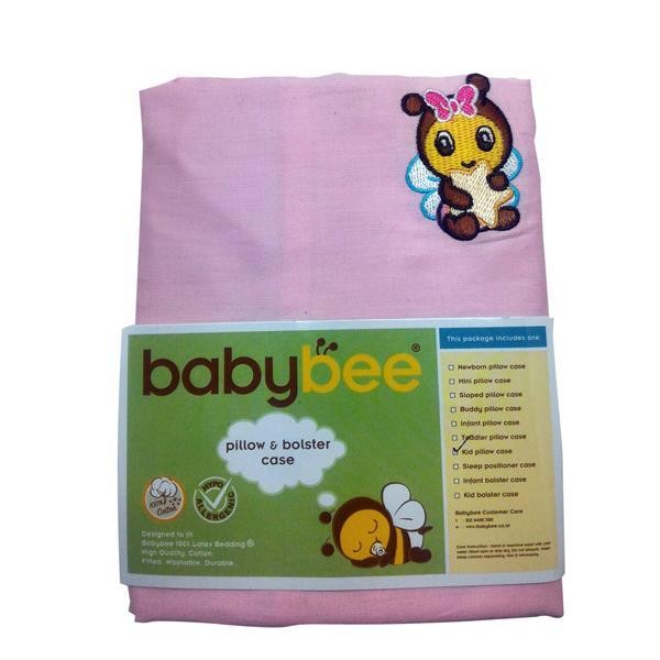 Babybee Kid Pillow Case - Pink