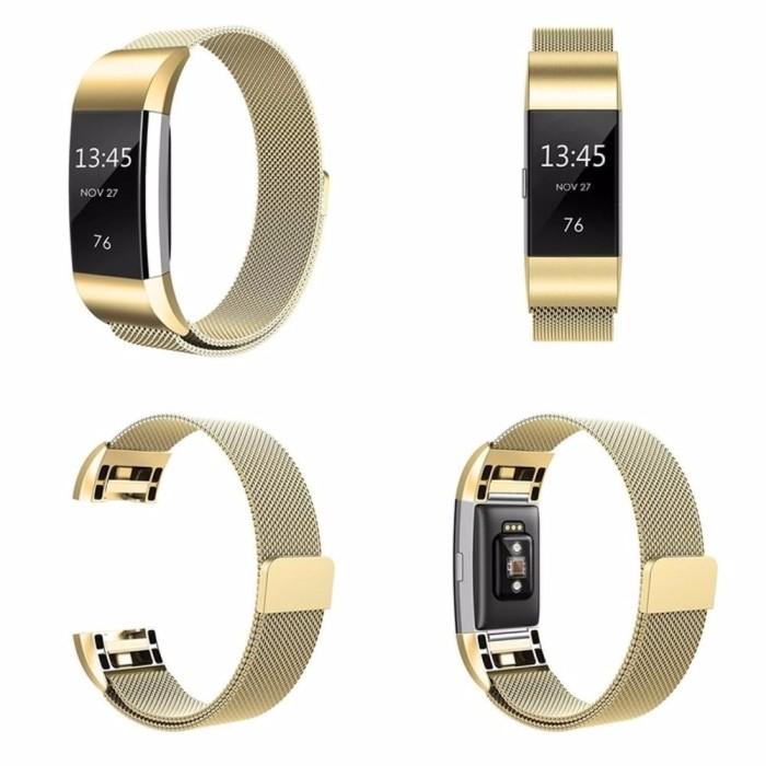 Jual Fitbit Charge 2 Magnetic Milanese Loop Strap Band Stainless Tali Jam -  Kota Surabaya - Topi Rajut Store | Tokopedia
