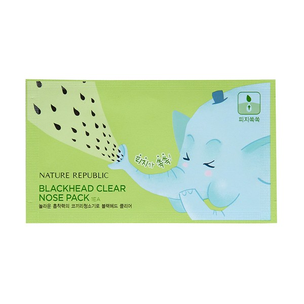 Blackhead clear nose pack(1ea)