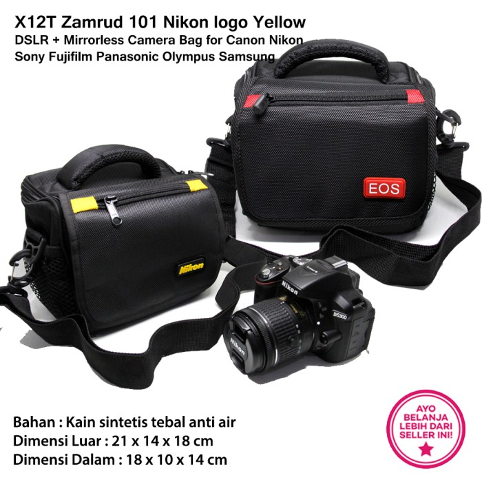 harga Camera bag - zamrud 101 for canon nikon dslr mirrorless Tokopedia.com
