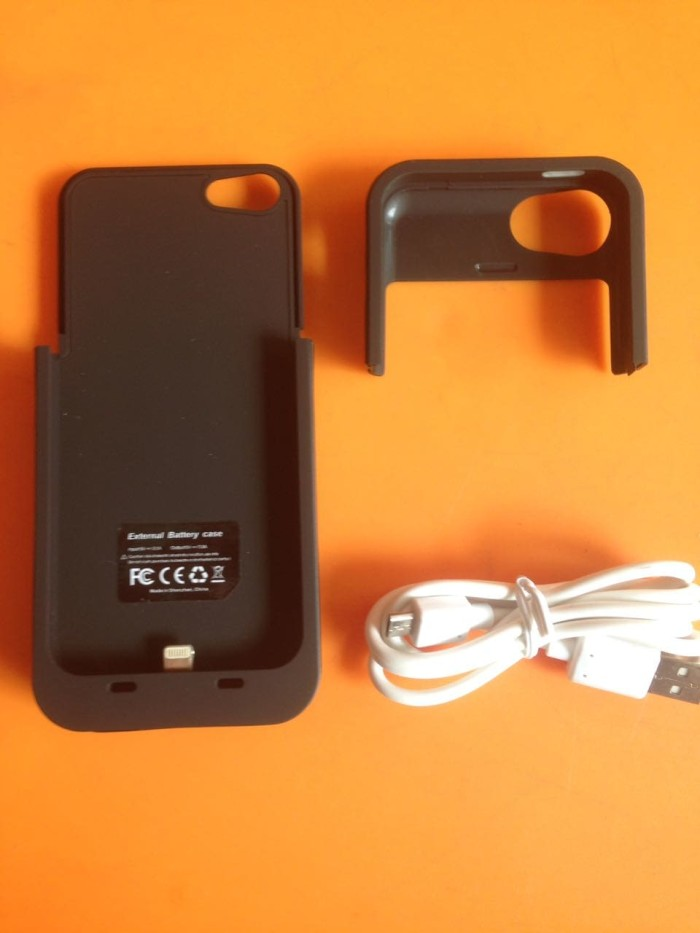 harga External Battery Power Case Iphone 5 / 5s 2500mah Tokopedia.com