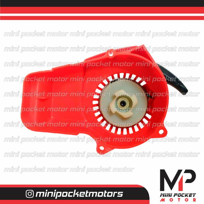 harga Pullstarter / tarikan plastik merah motor mini gp / trail 50cc Tokopedia.com