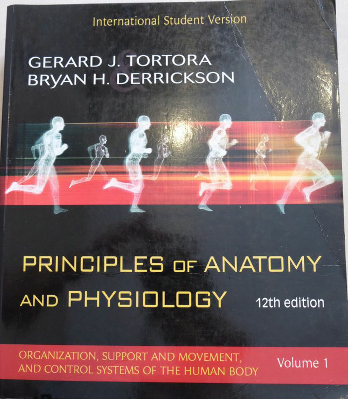 Jual Principles of Anatomy and Physiology 12th Edition| Tortora ...