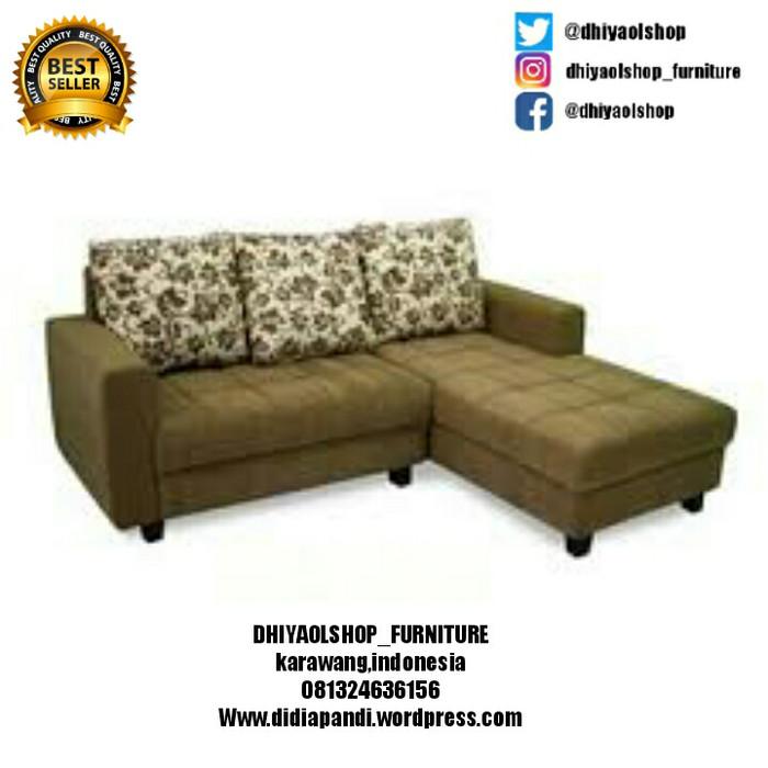 Sofa Bed Minimalis Di Bandung  jual sofa l minimalis kab karawang dhiyaolshop tokopedia