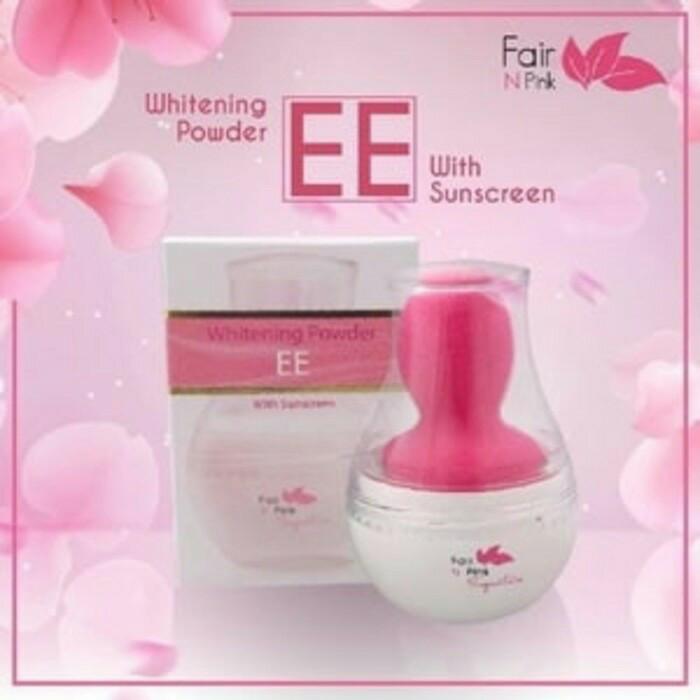 harga Ee Whitening Powder Fair N Pink Original Tokopedia.com
