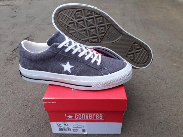 Sepatu converse one star undefeated pro suede grey   abu original bnib c8c18a37cb