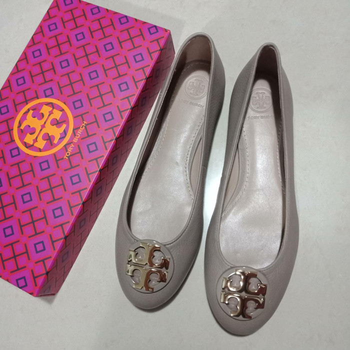 Sepatu Tory Burch Original - Tb Claire Flat Shoes ...