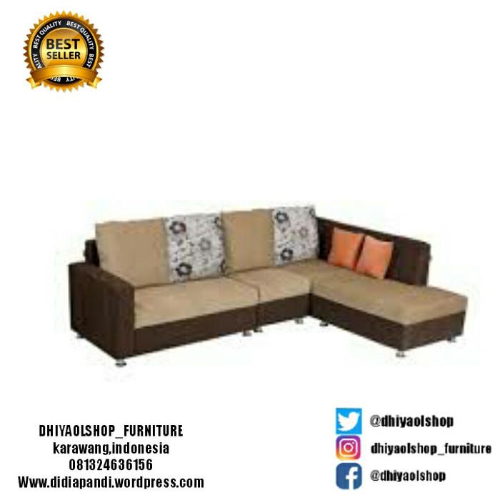 Sofa Bed Minimalis Di Bandung  jual sofa l minimalis free ongkir kab karawang dhiyaolshop tokopedia