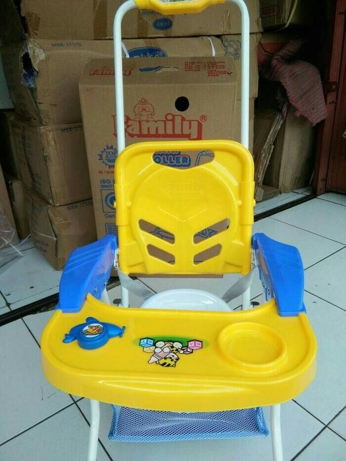 Family baby chair stroller fc - 8288 kursi makan bayi dorong
