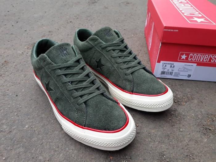 Jual Sepatu Converse Cons One Star Suede x Undefeated Sneakers Pria ... 6600e4a4d5