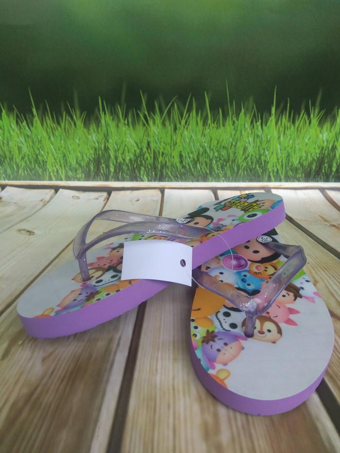 harga Sancu sandal lucu sandal jepit karakter  anak gambar tsum tsum Tokopedia.com