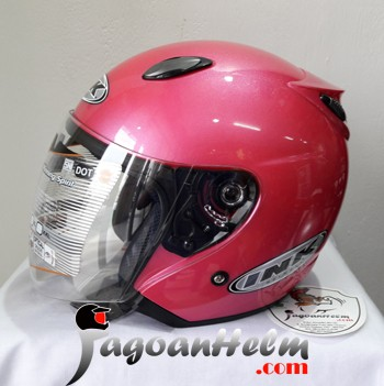 harga Ink helm centro jet | b-pink | original helmet Tokopedia.com