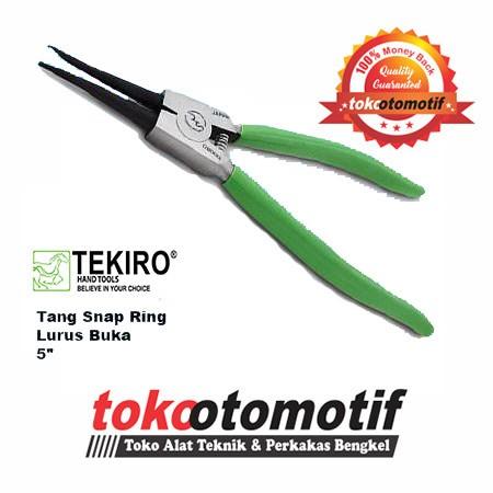 Tang snap ring lurus buka 5 inch tang spi tekiro japan .