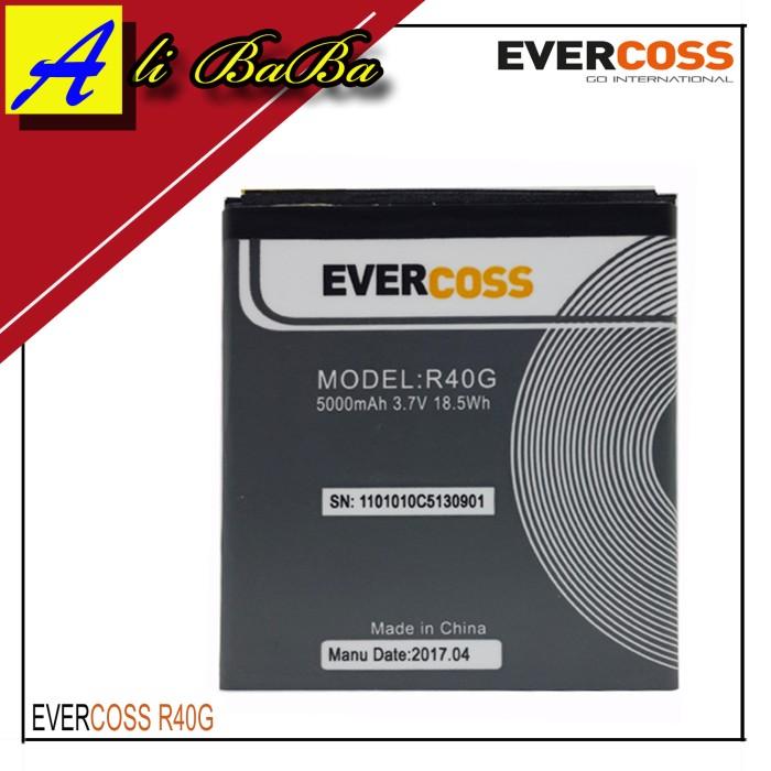 harga Baterai handphone evercoss r40g jump t2 dobel power evercoss original Tokopedia.com