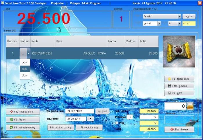 Foto Produk Software Solusi Toko 2.0 - Aplikasi - Program Kasir - POS - Penjualan dari solusiprogramcom