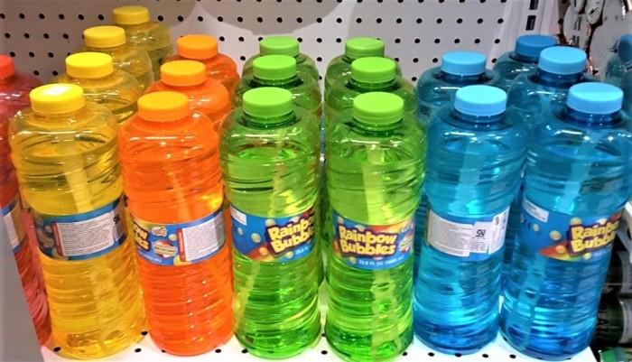 harga Mainan balon tiup anak bayi baby rainbow bubble refill sabun murah Tokopedia.com