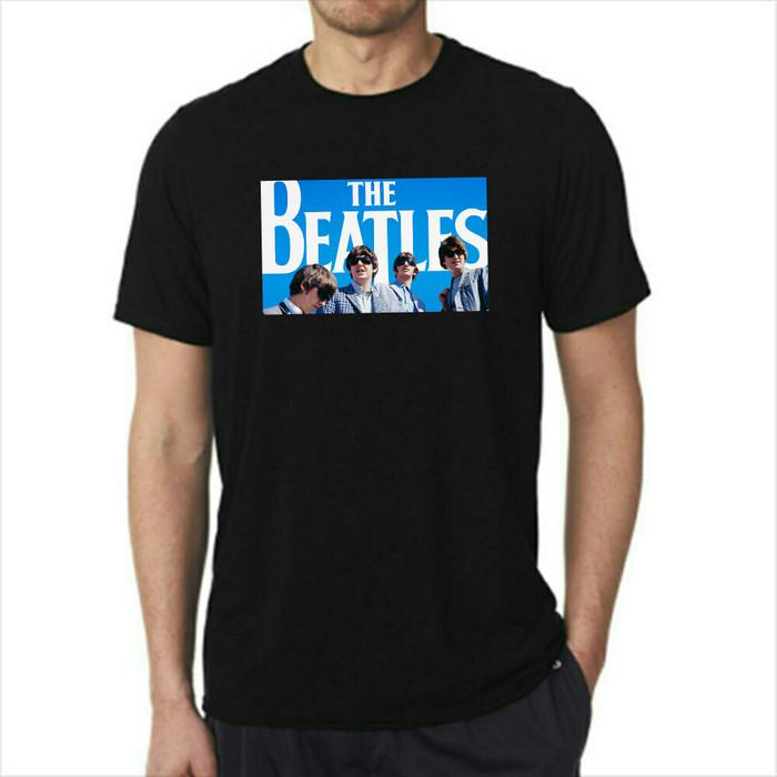 harga Kaos the beatles full Tokopedia.com