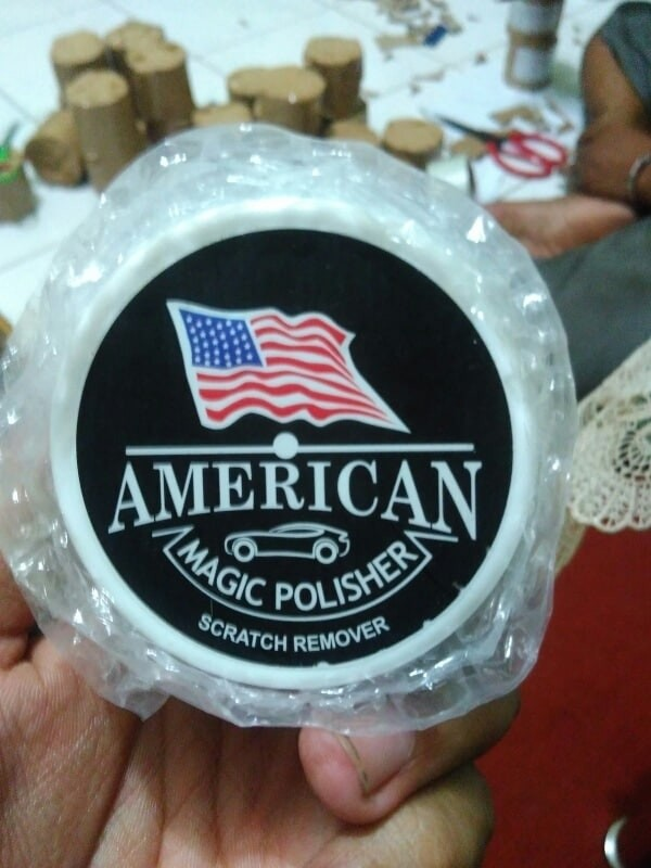 Obat Poles Body Mobil Baret American Magic Polisher