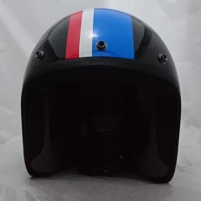 Helm (Retro) Bogo 53 Black Gloss Ss 3