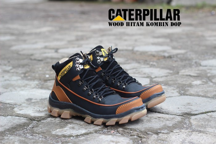 Jual Sepatu boots pria seapty caterpillar original terlaris ... 6253bcb7ef