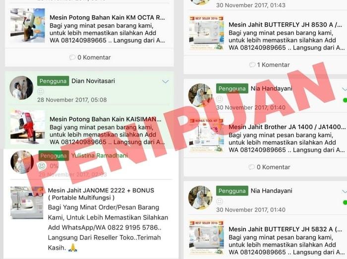 Jual Asli Murah Waspada Penipuan Jakarta Barat Rani Jahit1