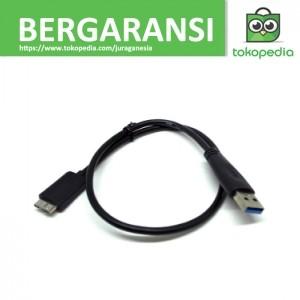 harga Seagate hdd usb 3.0 to micro b cable - 50 cm - hitam Tokopedia.com