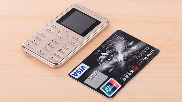 harga Handphone ultra slim mini size kartu atm unik Tokopedia.com