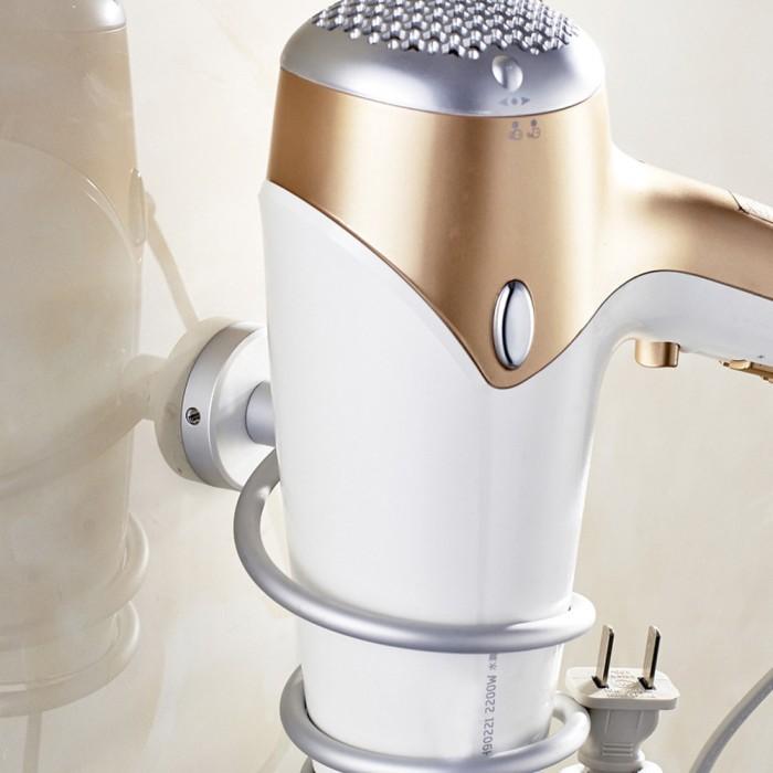 Dapur Bunda Hair Dryer Holder Rak Hairdryer Tempat Dan Gantunganhair ... 30cbd2393f
