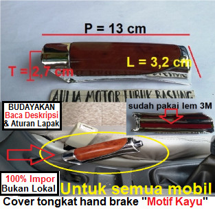 harga Garnish cover hand brake tongkat rem tangan ori long yi motif kayu Tokopedia.com