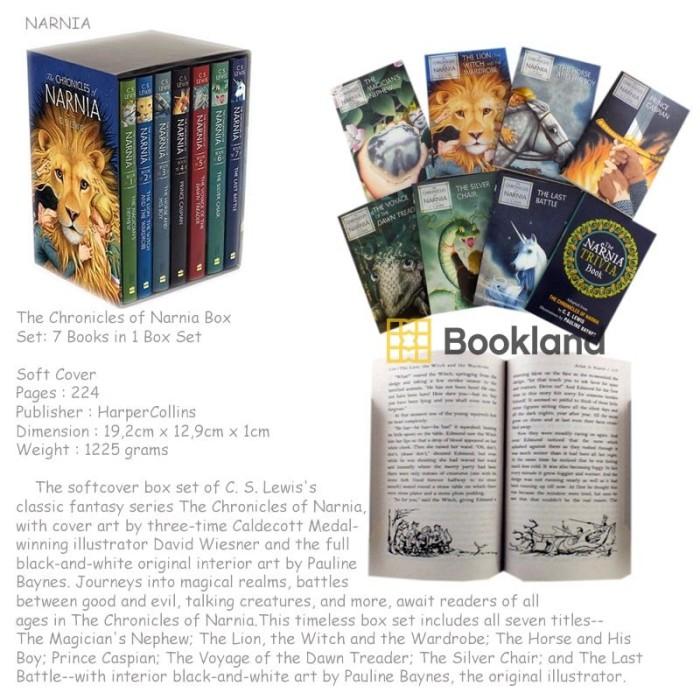 harga The chronicles of narnia box set : 7 books in 1 box set Tokopedia.com