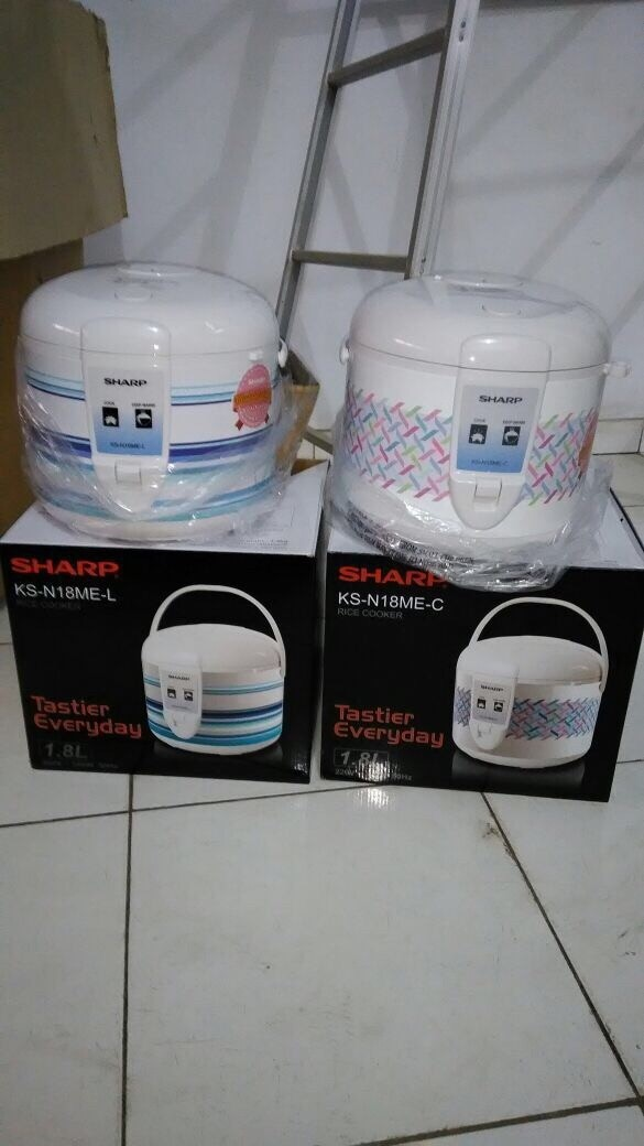 Rice cooker sharp ksn18me penanak nasi 3in1