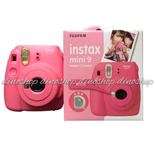 Jual Fujifilm Instax Mini 9 Kamera Polaroid Instant Flamingo Pink
