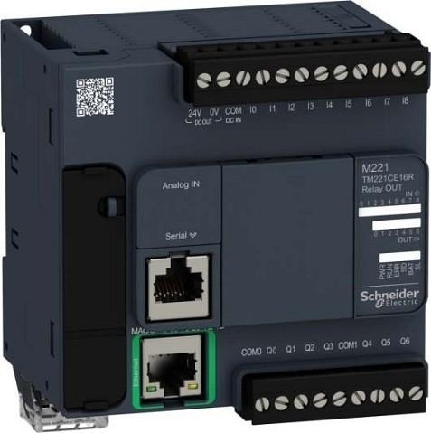 Jual PLC Schneider Modicon TM221CE16R - Kota Depok - Aslam Otomasi ...