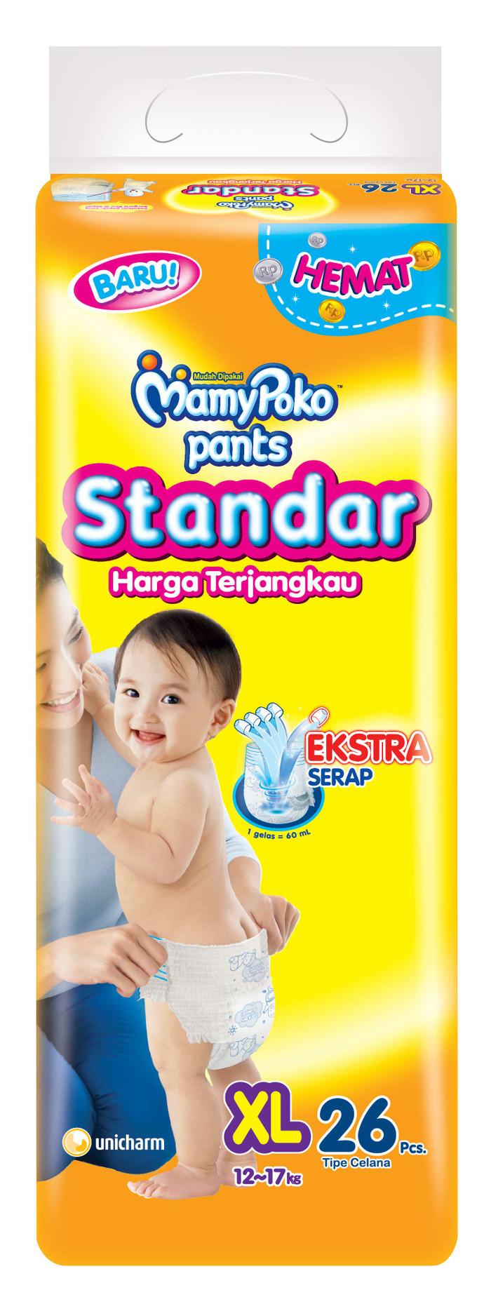 harga Mamy poko pants standar xl26 Tokopedia.com