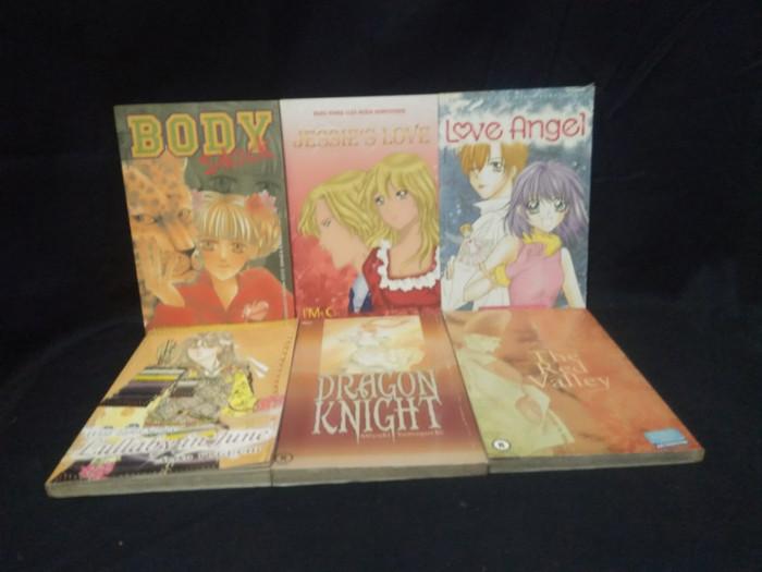 Komik paketan 6 buku no paket 14