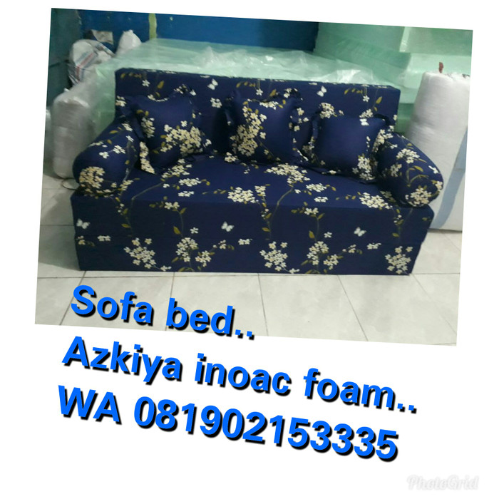 Jual Sofa Bed Inoac Ukuran 200 160 20 Biru Kota Tangerang Azkiya Foam Tokopedia