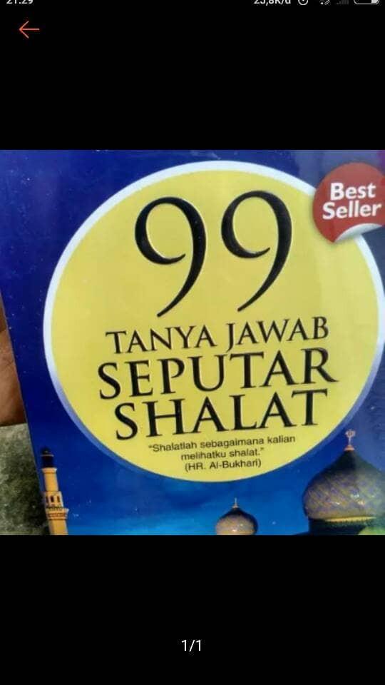 Foto Produk 99 Tanya Jawab Seputar Shalat dari Rumah Pintar_Jkt