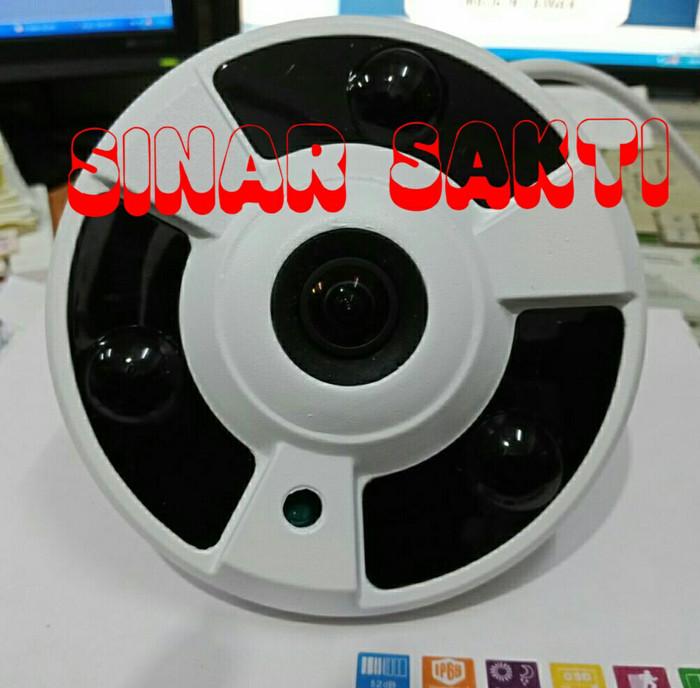Camera cctv panorama fish eye 360 3mp ahd 1080p