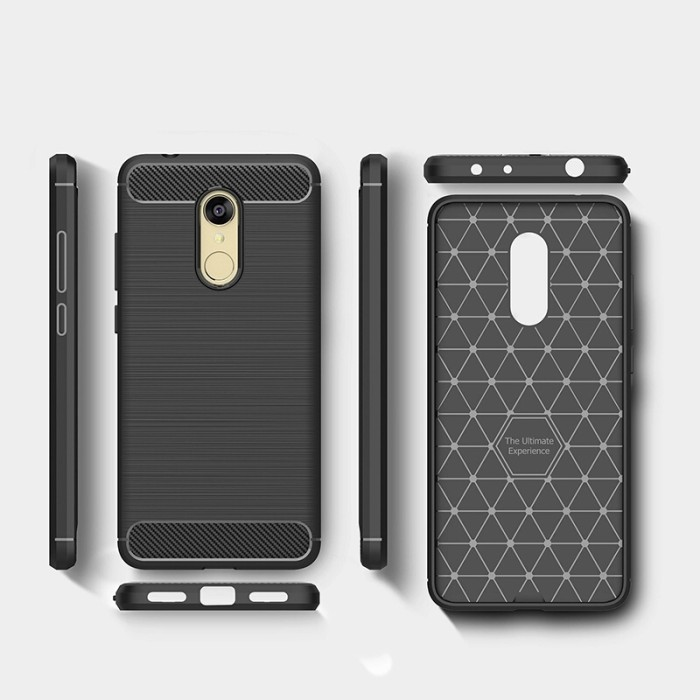 Ipaky Ipaky Carbon Hybrid Back Case For Xiaomi Redmi Note 4x Free Source · Softcase Xiaomi Redmi 5 Plus Carbon Fiber Texture Rubber Case Casing