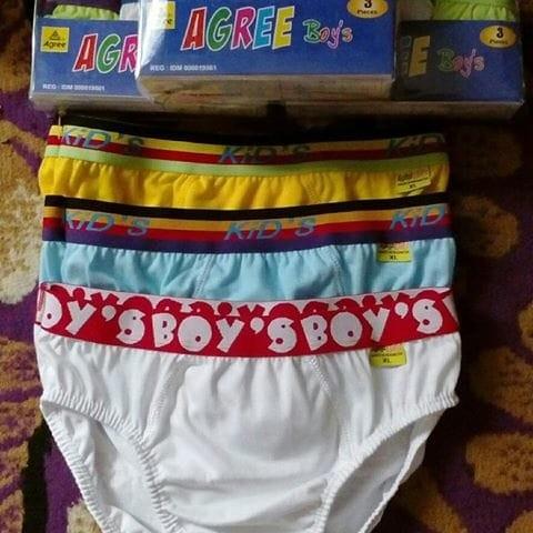 harga Celana Dalam/cd  Anak Laki-laki  - Agree Boys  - Cd - 1 Dus Isi 3 Pc Tokopedia.com