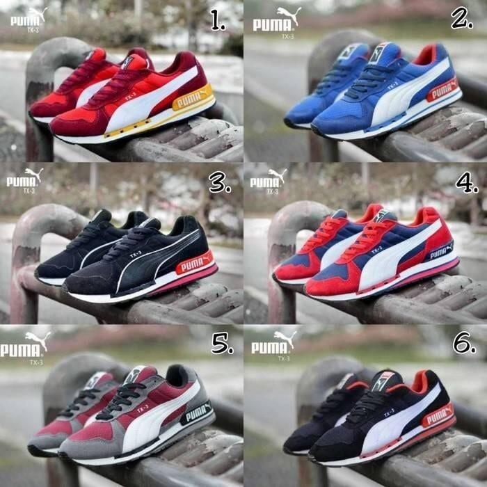 harga 50% off sepatu sport puma tx jogging sport running men Tokopedia.com